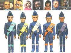 Thunderbirds - are GO, FAB - I loved Scott because he had a rocket for his aeroplane