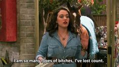 """We can't help but L-O-V-E our girl Kat Dennings' show 2 Broke Girls! The cheeky CBS sitcom has some of the best quotes on TV coming from the hilarious cast including Kat and her fellow """"Broke"""" gal Beth Behrs. Here are the best of 2 Broke Girls quotes! 2 Broke Girls, Tv Show Quotes, Movie Quotes, Life Quotes, Rock Roll, Funny Cute, The Funny, Crazy Funny, Broken Girl Quotes"""
