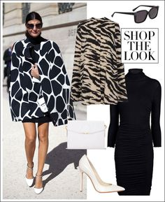 Shop the Street Style Look: Giovanna Battaglia is High Contrast