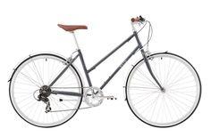 BV11001REI Ladies Vintage Bike Reid 2016 Esprit Metallic Charcoal DT