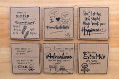 My Little Wall of Postcards & Dreams: Handmade Parcel to Taiwan
