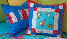 Quilt Magazine | Quilt Magazine » Blog Archive » Simple Quilts & Sewing, Winter 2012 – Whirlybird Pillows