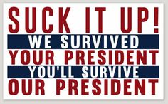 Cheap, bumper sticker mentality didn't save us after the Bush years devastation; Sound, sensible policies and good leadership did. That's something in short supply in the present admin. Political Memes, Political Views, Politics Humor, Truth Hurts, It Hurts, Liberal Logic, Stupid Liberals, Liberal Hypocrisy, Conservative Politics