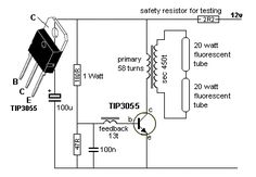 """a transformer) increasing the supply to a higher voltage to illuminate one or two LEDs in series. The """"LED Basic Electronic Circuits, Electronic Circuit Projects, Electronic Schematics, Electrical Projects, Electronic Engineering, Electrical Engineering, Hobby Electronics, Electronics Storage, Electronics Components"""