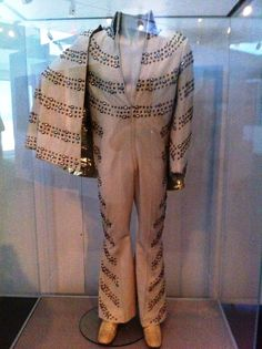 The white nail suit today in display at Graceland .
