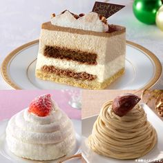 クリスマスケーキのミニサイズが登場♪クリスマスにケーキを予約したいけど、悩んでいるあなたにおススメです(^^)カスタードクリームが中にはいった「スノーボンブ」が気になります♪ http://eng.mg/c85c9