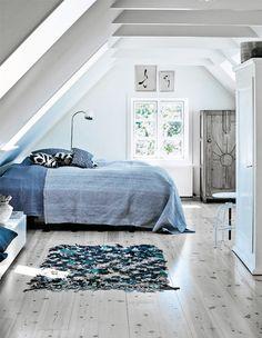 blau fürs schlafzimmer | bedroom styling..
