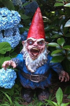 Gnombie Gnorman by thedarkgarden on Etsy. $116.66, via Etsy.