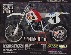 1991 Tuf Racing Honda Ad