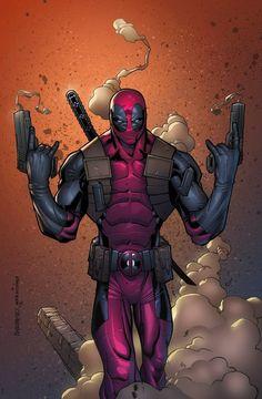 #Deadpool #Fan #Art. (Deadpool) By: Erickarciniega.