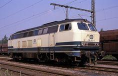 216 043  Duisburg - Ruhrort  20.07.89 --- DB -- Germany