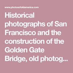 Historical photographs of San Francisco and the construction of the Golden Gate Bridge, old photographs of New York City including Wall Street  and the Brooklyn Bridge, pictures of dancers, jazz musicians, Abraham Lincoln and the Civil War,We have been exhibiting our historical photographs in galleries and craft shows for the past 25 years. Old black white photos are reprinted on archival photographic paper in sepia tones, then carefully matted and framed. These are real photographs, not…