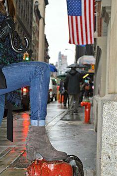 NY, streetstyle, borsalino , capa , cuadros ,new york city , blogger, boots ,stonefly