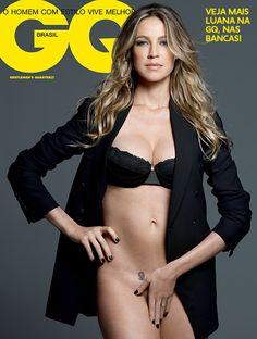 Luana Piovani posa de lingerie (e sem!) para GQ de novembro - GQ