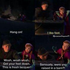 Frozen Anna And Kristoff