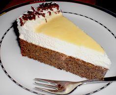 Zutaten    80 g  Zucker  80 g  Butter  1 Pck.Vanillinzucker  5 Ei(er)  200 gNüsse, gemahlene  100 gSchokolade, gemahlene Blocks...