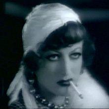 Joan Crawford — BEFORE