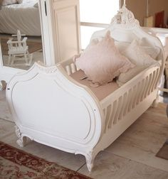 French Baby Bed. omg this just killed me. LOVEEEEEE IT