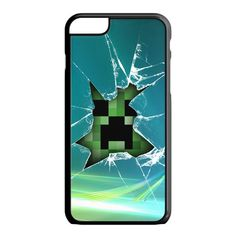 Minecraft Creeper Green Like a Boss iPhone 6S Case
