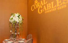 """EVENT: Tuesday, February 24th, 2015 @ 5:30 p.m. - 8:30 p.m. in the Coral Gables Country Club. Join us for an exciting and fun-filled evening that includes every couple's needs for the perfect """"It's So Miami"""" wedding! Enjoy sweet and savory samples, a fashion show and the chance to win fabulous Miami prizes including a cruise for two on the MSC Divina. #MiamiRomance"""