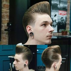 Mr DuckTail style cup hair Rockabilly | slick look in 2019 ...