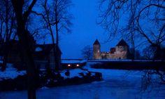 Biskopsborgen i Kuressaare. ◆Estland – Wikipedia http://sv.wikipedia.org/wiki/Estland #Estonia