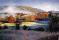 Pastel Landscapes   pastel landscape painting, how to paint with pastels, pastel art ...