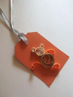Quilling book marker for books