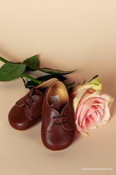 Pantofi botez piele băieței
