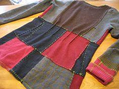 Mountain Ash Design: sweater chop shop