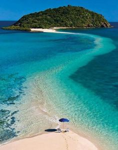 Island walking in Fiji