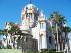 Memorial Presbyterian Church. San Agustin, Florida