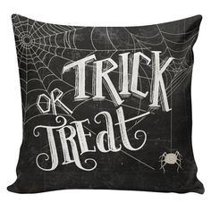 Halloween Pillow Cushion French Style by ElliottHeathDesigns