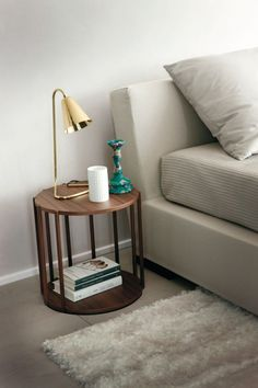 Bedside tables round round bedside tables round nightstand nightstand design bedroom ideas bedside table with drawers Side Coffee Table, Modern Coffee Tables, Round Nightstand, Bedside Tables, Glass Room Divider, Home Decor Bedroom, Design Bedroom, Kids Bedroom, Bedroom Ideas