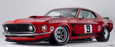 Allan Moffat's 1969 Trans Am Boss 302 Mustang