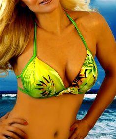 Swimsuits, Swimwear, Push Up, Hawaiian, Bikini Tops, String Bikinis, Beachwear, Bra, Summer Beach