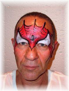Face Painting - Super Hero.JPG (480×632)