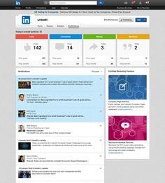 Tableau de bord LinkedIn pour les entreprises - #LinkedIn