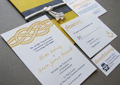 More nautical invites