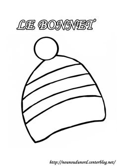 coloriage bonnet dessin par nounoudunord imprimer le coloriage grand format en fichier pdf cliquez