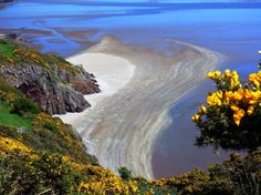 Coastal path between Portling and Sandyhills on the Solway coast