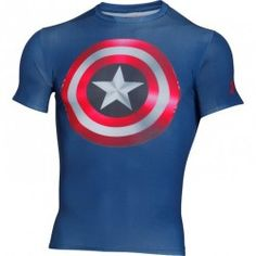 e247841a1e0e Kompresné tričko Under Armour® Alter Ego Captain America 2.0 Captain  America 2