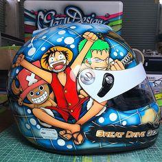Arai custom helmet Gary Fung