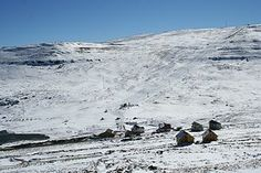 The Afri-Ski resort in the Maloti Mountains of Lesotho. BelAfrique your personal travel planner - www.BelAfrique.com