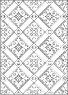 Welcome to Dover Publications Creative Haven Ornamental Designs Coloring Book Mais Pattern Coloring Pages, Mandala Coloring Pages, Coloring Book Pages, Printable Coloring Pages, Coloring Sheets, Medieval Pattern, Spring Coloring Pages, Motif Art Deco, Dover Publications