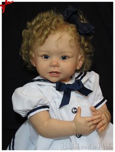 CUSTOM ORDER FOR BONNIE TODDLER DOLL All of the photos show babies that were reborn by me, and show my actual work. I have been creating