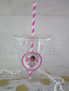 12 Doc McStuffins Disposable Party Favor Cups by MyFrantasticEvent