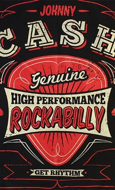 Johnny Cash Rockabilly Bandana