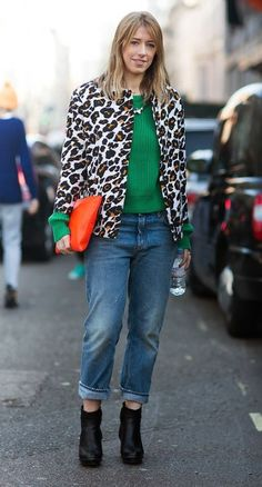Streetstyle, brights and animal prints