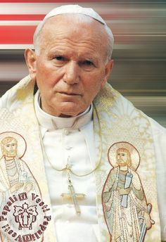 Saint Pope  JP II